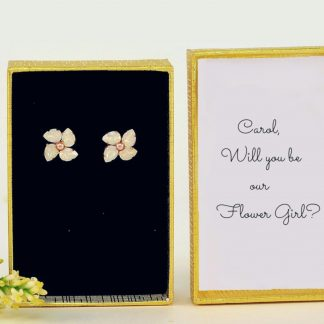 flower girl earrings 1