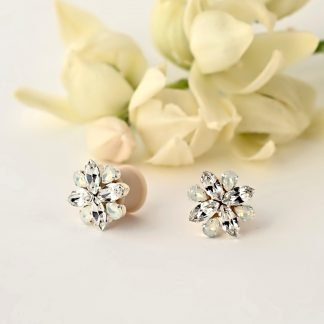 bridal ear plug earrings 1