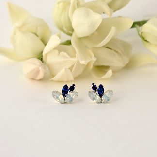 blue crystal earrings1