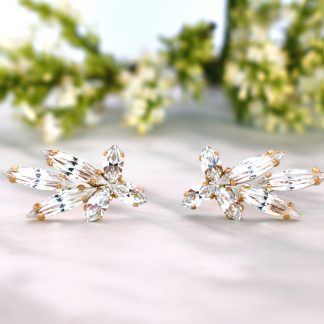 Wedding crystal earrings 1