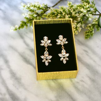 Chandelier crystal earrings 4